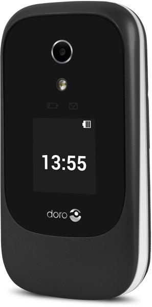 """Doro 7060 schwarz / weiß 4GB LTE Senioren Klapphandy 2,8"""" Display 3 Megapixel"""
