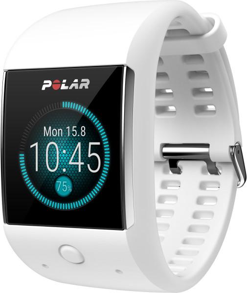 Polar M600 weiß 4GB Smartwatch Fitness Tracker Schlafüberwachung Bluetooth