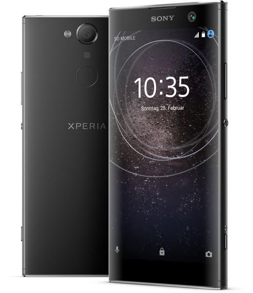 "Sony Xperia XA2 schwarz 32GB LTE Android Smartphone o. Simlock 5,2"" Display 23MP"