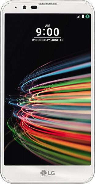 "LG X Mach weiß 32GB LTE Android Smartphone ohne Simlock 5,5"" Display 12,3MPX"