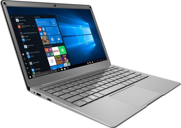 "TrekStor Surfbook A13-P 13.3 4GB grau 128GB SSD Windows Notebook 13,3"" Display"