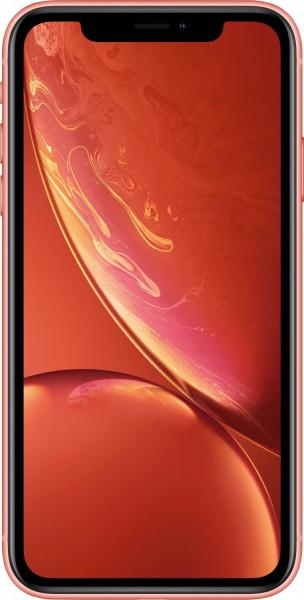 "Apple iPhone XR Koralle 128GB LTE iOS Smartphone 6,1"" Display 12 Megapixel eSim"