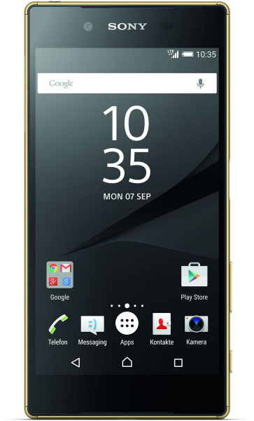 """Sony Xperia Z5 gold 32GB LTE Android Smartphone ohne Simlock 5,2"""" Display 23 MPX"""