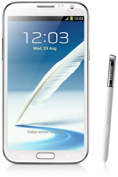 Samsung Galaxy Note 2 N7100 weiß 16GB Android Smartphone ohne Simlock