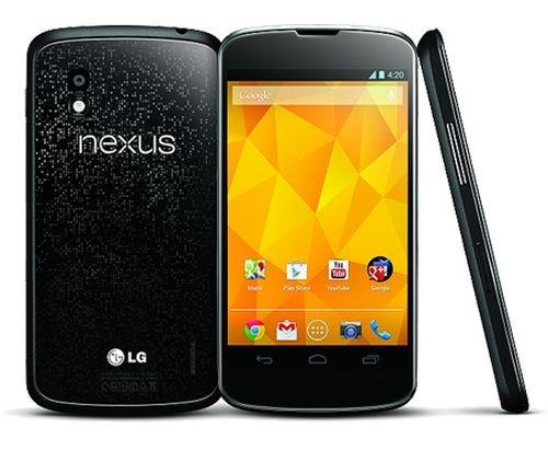 "LG Nexus 4 E960 16GB schwarz Android Smartphone 4,7"" Display ohne Simlock 8 MPX"