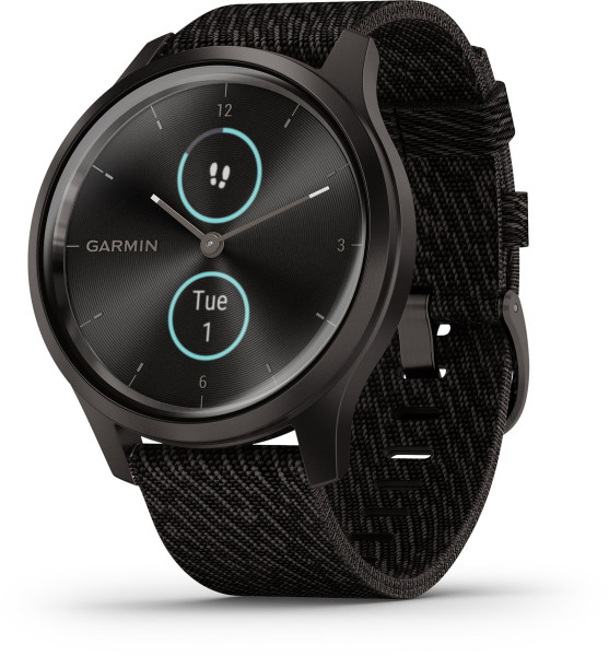Garmin vivomove STYLE Schwarz Android iOS Smartwatch Bluetooth Fitness Tracker