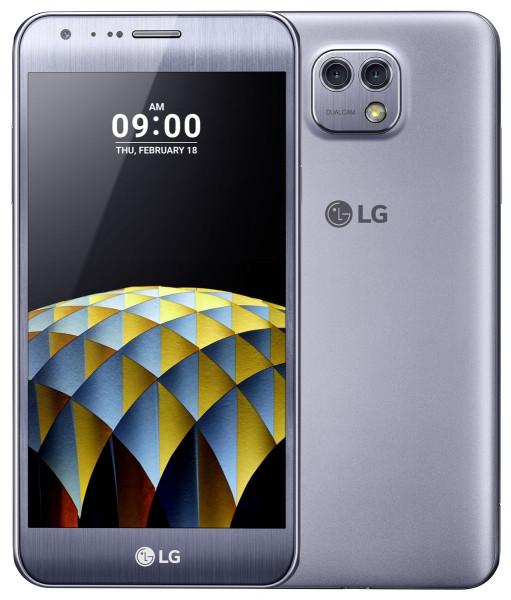 LG X Cam silber 16GB LTE Android Smartphone 5,2 Zoll ohne Simlock 13 Megapixel