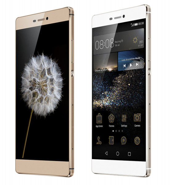 "Huawei Ascend P8 16GB 13MPX champagne 5,2"" Android LTE Smartphone ohne Simlock"