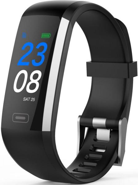 swisstone SW 600 HR schwarz Activity Fitness Tracker Kalorienzähler Kilometer