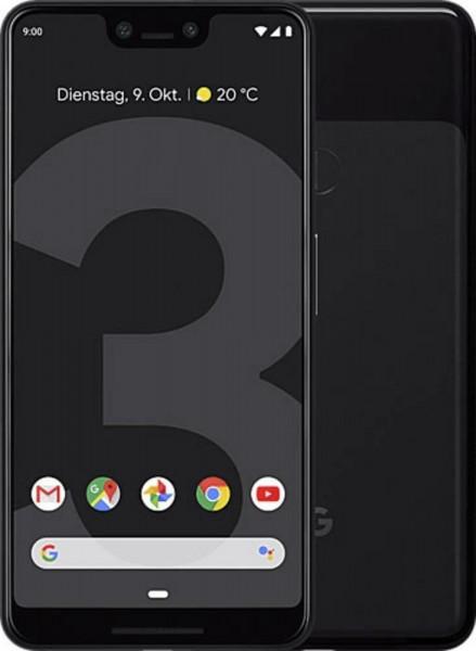 "Google Pixel 3 XL schwarz 64GB LTE Android Google Smartphone 6,3"" OLED 12,2MPX"