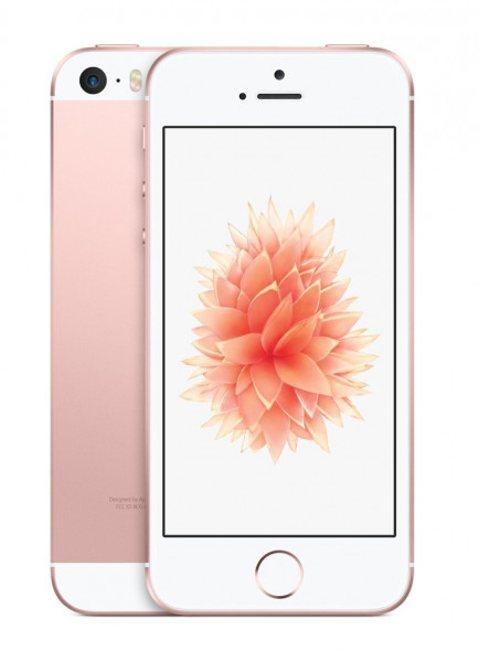 "Apple iPhone SE Rose Gold 64GB LTE iOS Smartphone 4"" Display 12MPX ""US Version"