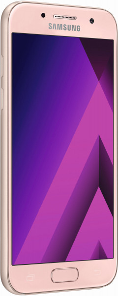 "Samsung Galaxy A3 2017 pink 16GB Android Smartphone ohne Simlock 4,7"" Display"