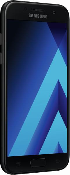 SAMSUNG Galaxy A3 2017 schwarz 16GB LTE Android Smartphone ohne Simlock 4,7 Zoll