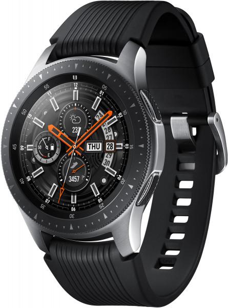 Samsung Galaxy Watch SM-R800 46 mm Silber Smartwatch