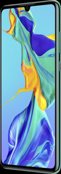 "Huawei P30 DualSim Aurora Blau 128GB LTE Android Smartphone 6,1"" OLED 40 MPX"