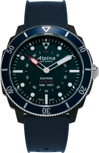Alpina Seastrong Horological Smartwatch Navyblau