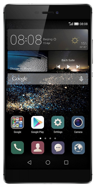 "Huawei P8 grau 16GB LTE Android Smartphone ohne Simlock 5,2"" Display 13 MPX"
