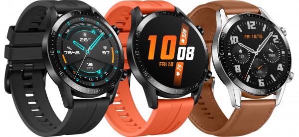 Huawei Watch GT 2 Latona Edelstahl Smartwatch Fitnesstracker Schlaftracker GPS