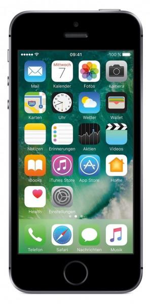 "Apple iPhone SE 64GB Spacegrau LTE iOS Smartphone 4"" Retina Display 12 MPX"