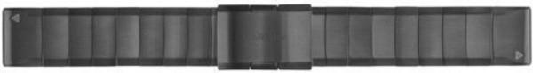 Garmin Ersatzarmband QuickFit Metall grau 22mm