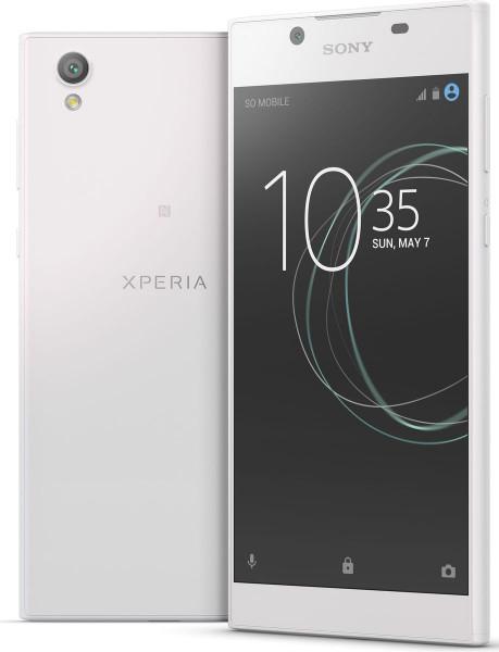 "Sony Xperia L1 weiß 16GB LTE Android Smartphone ohne Simlock 5,5"" Display 13MPX"