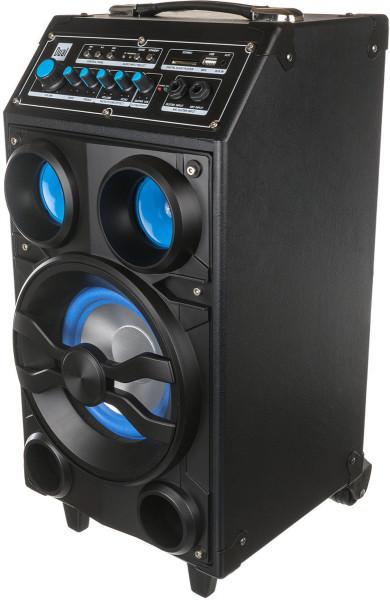 Dual DSBX 100 Mobiles Soundsystem mit Bluetooth Schwarz