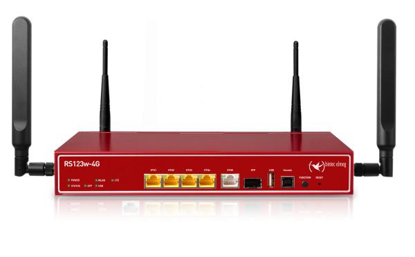 bintec RS123w-4G LTE Gigabit-Ethernet-Router WLAN 802.11n Gebraucht - Akzeptabel