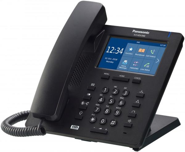 Panasonic KX-HDV340NEB SIP Telefon schwarz