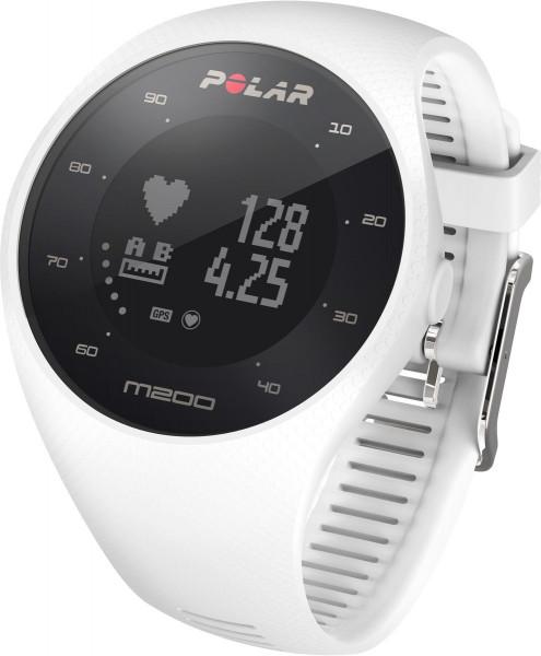 Polar M200 weiß Gr. M/L Herzfrequenz GPS Fitnesstracker Smart Notifications