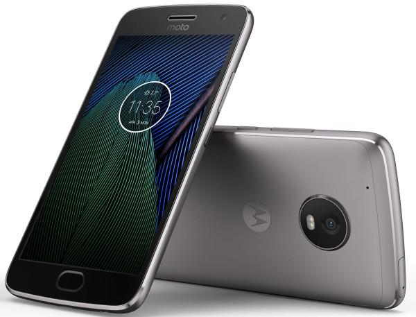 Lenovo Moto G5 Plus 32GB lunar grey Dual Sim LTE Android Smartphone ohne Simlock