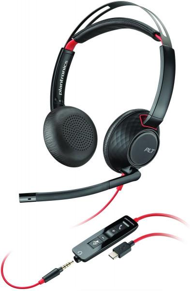 Poly Headset Blackwire C5220 binaural USB-C & 3,5 mm