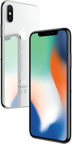 "Apple iPhone X 256GB Silber LTE IOS Smartphone ohne Simlock 5,8"" Display 12MPX"