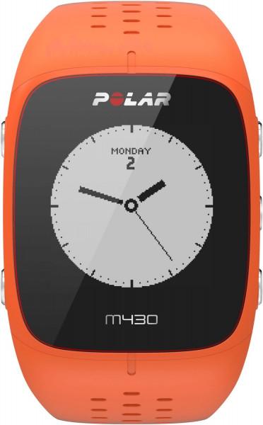 Polar M430 Pulsuhr orange Fitness- & Schlaf Tracker GPS Herzfrequenz Pulsmesser