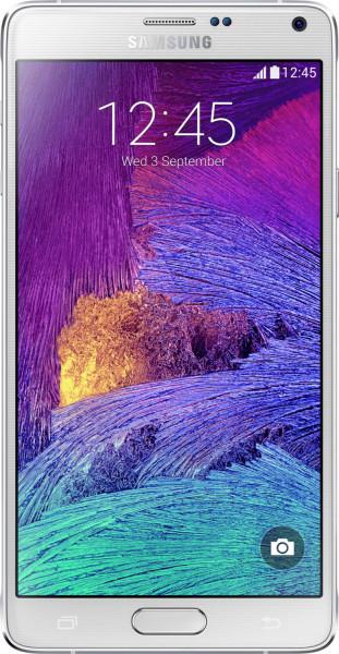 Samsung N910F Galaxy Note 4 Frost weiß 32GB