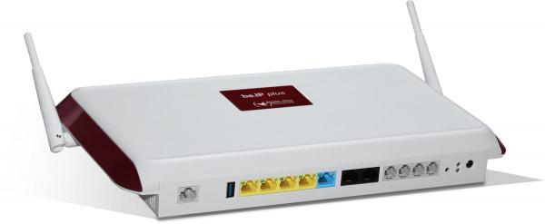 Bintec-Elmeg be.ip plus weiß Telefonanlage 20 Benutzer 1000Mbit/s 4xLAN