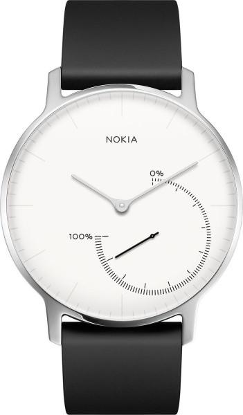 Nokia Activite Steel weiß Activity Tracker Schlafanalyse Schrittzähler
