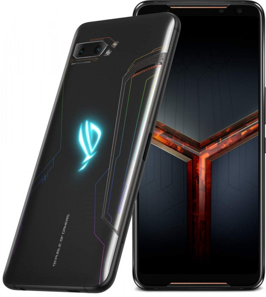 "ASUS ROG Phone II DualSim schwarz 512GB LTE Android Gaming Smartphone 6,59"" 48MP"