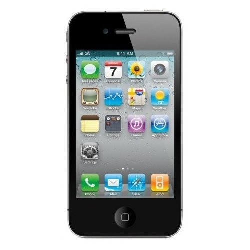 Apple iPhone 4S 16GB schwarz iOS Smartphone 3,5 Zoll Display 8 Megapixel Kamera