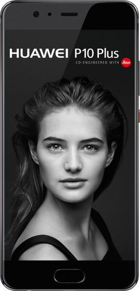 Huawei P10 Plus schwarz 128GB Vodafone Android Smartphone 12 MPX Doppelkamera