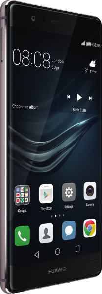 "Huawei P9 Plus grau Telekom 64GB LTE Android Smartphone Bluetooth GPS 5,5"" 12MP"