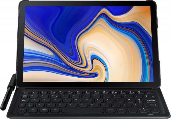 Samsung Galaxy Keyboard Cover TAB S4 magnetisch deutsches Tastaturlayout