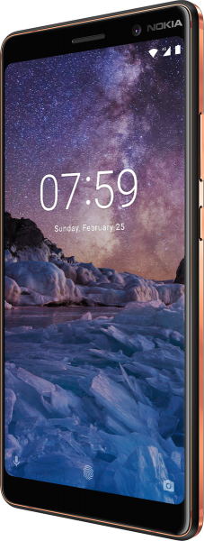 "Nokia 7 Plus schwarz 64GB LTE Android Smartphone o. Simlock 6"" Display 13MPX"