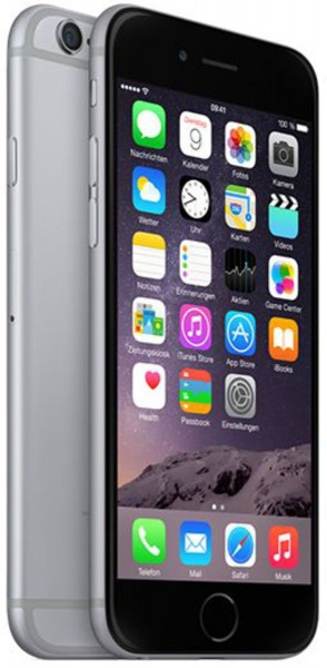 "Apple iPhone 6 Spacegrau 64GB LTE iOS Smartphone 4,7"" Retina Display 8 Megapixel"