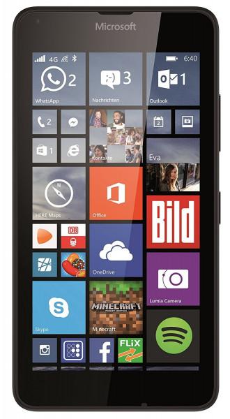 "Microsoft Lumia 640 schwarz 8GB LTE Windows Smartphone ohne Simlock 5"" Display"
