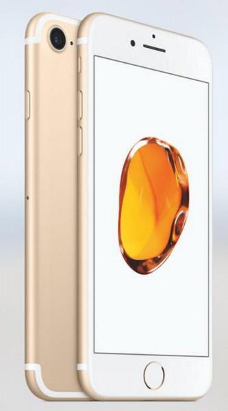 "Apple iPhone 7 128GB Gold LTE iOS Smartphone ohne Simlock 4,7"" Retina Display"