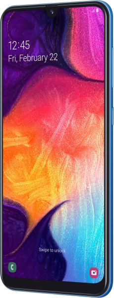 "Samsung Galaxy A50 DualSim blau 128GB LTE Android Smartphone 6,4"" Display 25 MPX"