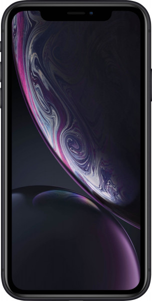 "Apple iPhone XR schwarz 256GB LTE iOS Smartphone 6,1"" Display 12 Megapixel eSim"