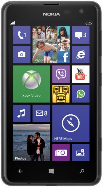 Nokia Lumia 625 schwarz 8GB Windows 4,7 Zoll Smartphone ohne Simlock 5 Megapixel