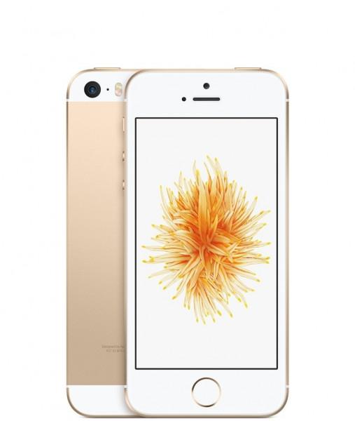 Apple iPhone SE 16GB Gold IOS LTE Smartphone ohne Simlock 4 Zoll Display 12 MPX