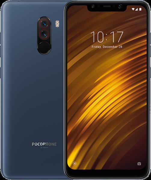 Xiaomi POCOPHONE F1 DualSim steel blau 64GB